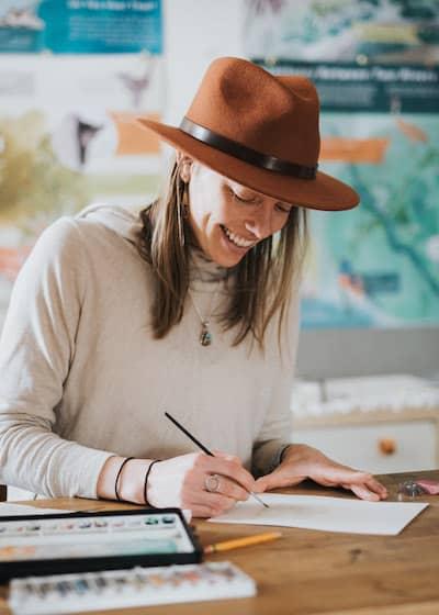 People - Katie Christiansen, Artist in Residence